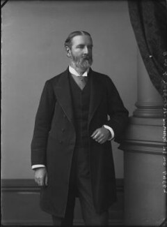 Sir Edward Maunde Thompson, by Alexander Bassano - NPG x31885
