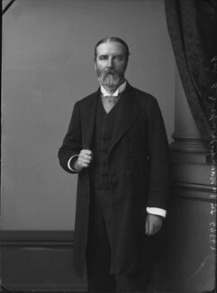Sir Edward Maunde Thompson, by Alexander Bassano - NPG x31886