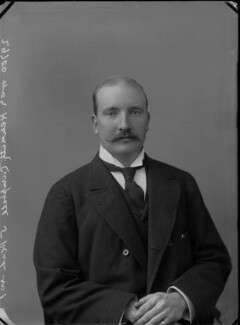 Hon. Kenneth Hallyburton Campbell, by Alexander Bassano - NPG x31938
