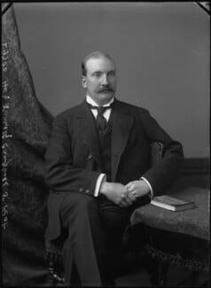 Hon. Kenneth Hallyburton Campbell, by Alexander Bassano - NPG x31942