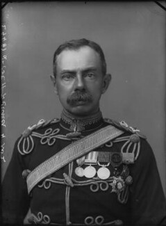 Herbert Plumer, 1st Viscount Plumer, by Alexander Bassano, 1899 - NPG x32018 - © National Portrait Gallery, London
