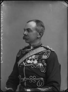 Herbert Plumer, 1st Viscount Plumer, by Alexander Bassano, 1899 - NPG x32019 - © National Portrait Gallery, London