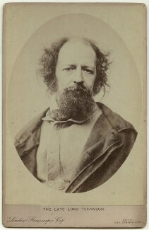 Alfred, Lord Tennyson, by London Stereoscopic & Photographic Company - NPG x12999