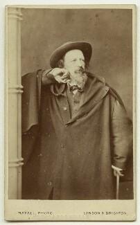 Alfred, Lord Tennyson, by John Jabez Edwin Mayall - NPG x12997