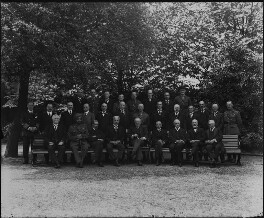 The Imperial War Cabinet, by Vandyk, 25 June 1918 - NPG x32125 - © National Portrait Gallery, London