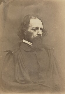 Alfred, Lord Tennyson, by James Mudd - NPG x7950