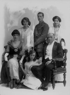 Sir Hugh Charles Clifford with his family, by Bassano Ltd, 30 June 1915 - NPG x32216 - © National Portrait Gallery, London