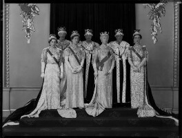 Royal group on the occasion of the coronation of King George VI, by Hay Wrightson, 12 May 1937 - NPG x32328 - © National Portrait Gallery, London