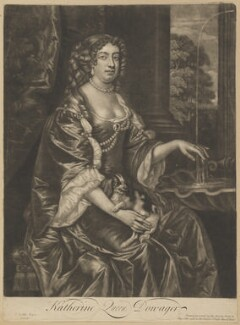 Catherine of Braganza, published by Thomas Bowles Jr, after  Sir Peter Lely - NPG D10644