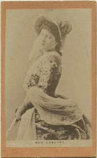 Lillie Langtry, after London Stereoscopic & Photographic Company - NPG x32351