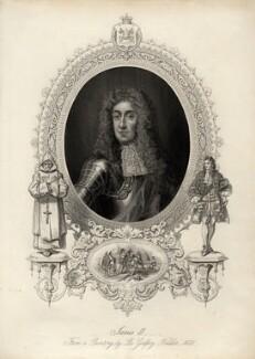 King James II, after Sir Godfrey Kneller, Bt - NPG D10645