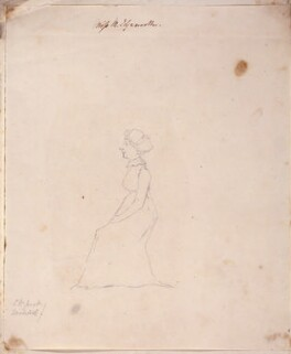Maria Edgeworth, by Unknown artist - NPG 6532