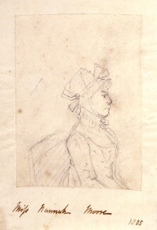 Hannah More, by Unknown artist - NPG 6533