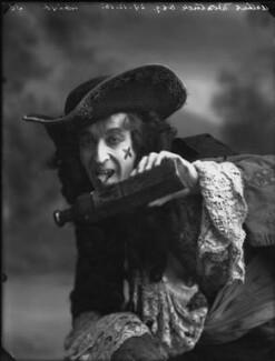 Arthur Wontner as Captain Hook in 'Peter Pan', by Bassano Ltd - NPG x32461