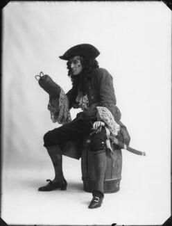 Arthur Wontner as Captain Hook in 'Peter Pan', by Bassano Ltd - NPG x32462