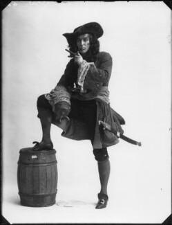 Arthur Wontner as Captain Hook in 'Peter Pan', by Bassano Ltd - NPG x32464
