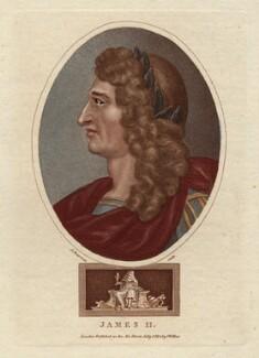 King James II, by John Chapman, published by  John Wilkes, published 1 July 1804 - NPG D10647 - © National Portrait Gallery, London