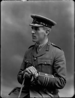 Sir Godfrey Pattison Collins, by Bassano Ltd - NPG x32497