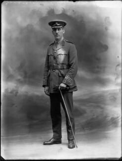 Sir Godfrey Pattison Collins, by Bassano Ltd - NPG x32499