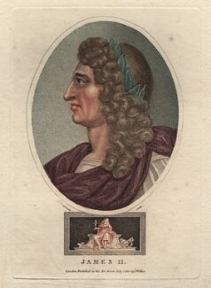 King James II, by John Chapman, published by  John Wilkes - NPG D10648