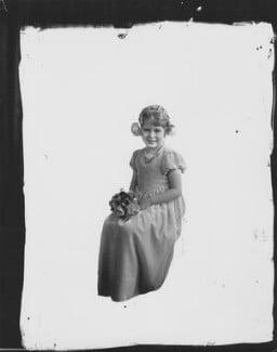 Queen Elizabeth II, by Vandyk - NPG x32585