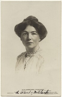 Dame Christabel Pankhurst, by Lambert Weston & Son - NPG x32605