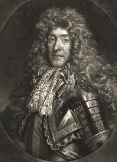 King James II, by John Smith, published by  Alexander Browne, after  Nicolas de Largillière - NPG D10650