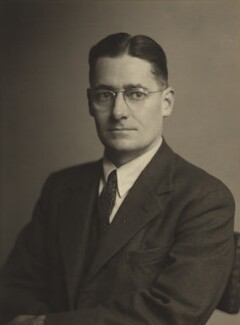 Howard Walter Florey, Baron Florey, by Walter Stoneman - NPG x32638
