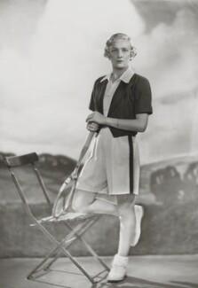 Helen Hull Jacobs, by Dorothy Wilding - NPG x32695