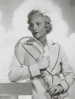 Helen Hull Jacobs, by Dorothy Wilding - NPG x32699