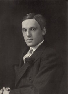Basil Sheridan Hamilton-Temple-Blackwood, 4th Marquess of Dufferin and Ava, by Walter Stoneman, 1932 - NPG x32715 - © National Portrait Gallery, London