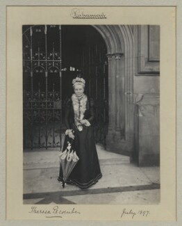 Theresa Susan Escombe (née Taylor), by Benjamin Stone - NPG x32719