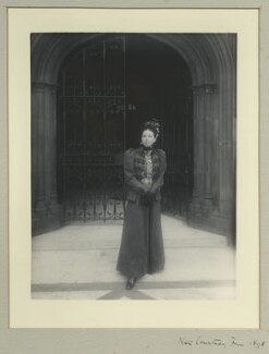 Catherine ('Kate') Courtney (née Potter), Lady Courtney of Penwith, by Benjamin Stone - NPG x32720