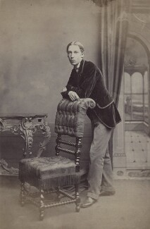 Robert Louis Stevenson, by John Moffat, 1860-1879 - NPG x32721 - © National Portrait Gallery, London