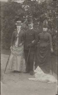 Queen Alexandra; Frederick VIII, King of Denmark; Maria Feodorovna, Empress of Russia (Princess Dagmar), by Unknown photographer - NPG x32759