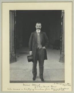 Louis Charles Joseph Blériot, by Benjamin Stone - NPG x32764