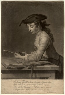 Pierre Jean Baptiste Chardin, by and sold by John Faber Jr, after  Jean Baptiste Siméon Chardin - NPG D10658