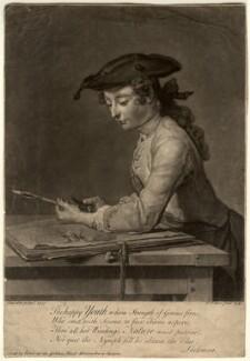 Pierre Jean Baptiste Chardin, by and sold by John Faber Jr, after  Jean Baptiste Siméon Chardin, 1740 (1737) - NPG D10658 - © National Portrait Gallery, London