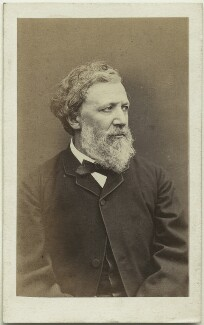Robert Browning, by William Jeffrey, 1865 - NPG x4821 - © National Portrait Gallery, London