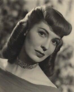 Valerie Hobson, by Fred Daniels - NPG x32906