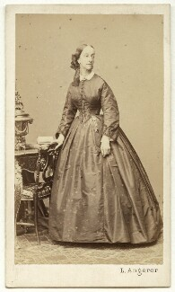 Princess Francisca of the Empire of Brazil (later Princess of Joinville), by Ludwig Angerer, 1860s - NPG x32966 - © National Portrait Gallery, London