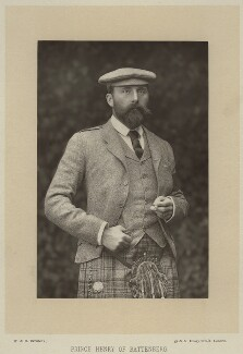 Prince Henry Maurice of Battenberg, by W. & D. Downey, published by  Cassell & Company, Ltd - NPG x32977