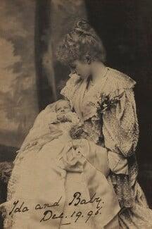William George Edmonstone; Ida Agnes Eleanor Edmonstone (née Forbes), Lady Edmonstone, by Alice Hughes - NPG x32994