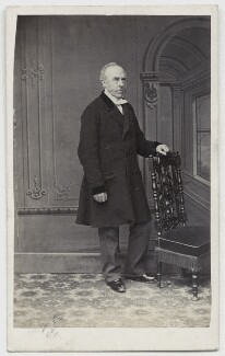 Mr Alderson, by Lauder Brothers, 1860s - NPG x33 - © National Portrait Gallery, London