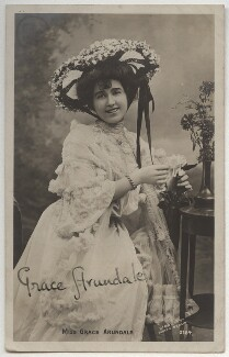 Grace Arundale (née Kelly), by The Biograph Studio - NPG x330