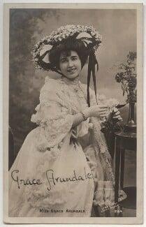 Grace Arundale (née Kelly), by The Biograph Studio, 1900s - NPG x330 - © National Portrait Gallery, London