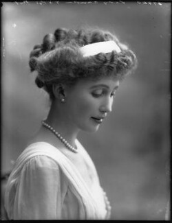 Joan Marion (née Nevill), Marchioness of Camden, by Bassano Ltd - NPG x33074