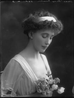 Joan Marion (née Nevill), Marchioness of Camden, by Bassano Ltd - NPG x33075