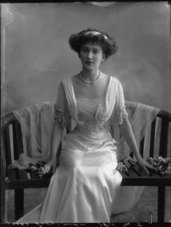 Joan Marion (née Nevill), Marchioness of Camden, by Bassano Ltd - NPG x33076