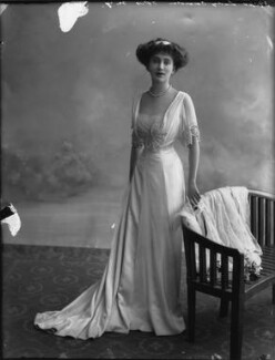 Joan Marion (née Nevill), Marchioness of Camden, by Bassano Ltd - NPG x33077
